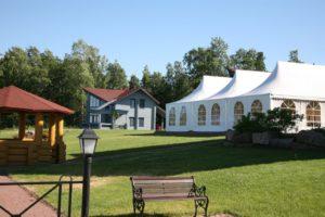 Закрытый шатер в аренду для мероприятий