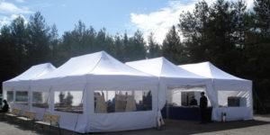 Аренда шатра для проведения сезонной ярмарки